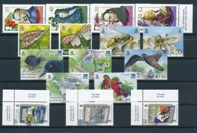 [G121050] Pitcairn Islands after 2000 5 very fine MNH modern sets