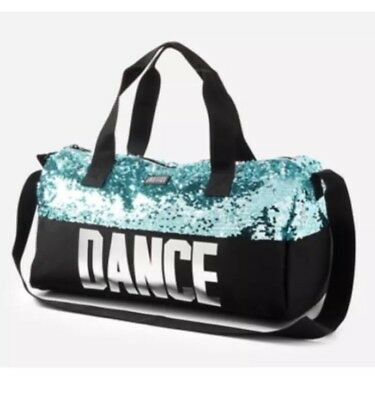 Justice Girl's DANCE Sequin Bling Duffle SPARKLE Tote Bag Christmas Gift NWT