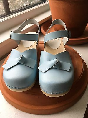 NEW Sven Clogs - Size 40 - Like No. 6 - Blue - Mary Jane - FREE Shipping!