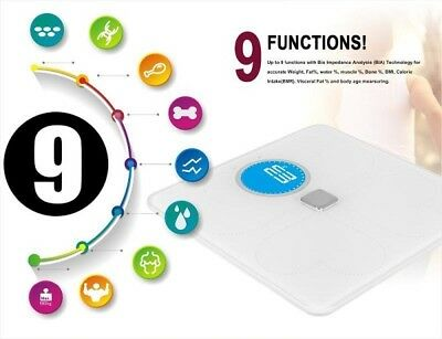 New Digital Electronic Body Fat  Weighing Scale LCD with Bluetooth