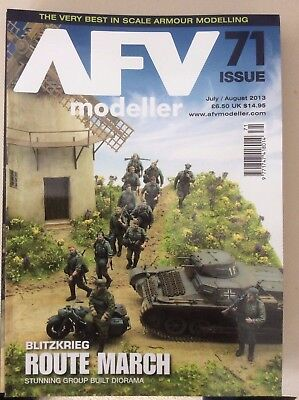 AFV Modeller magazine JUly/August 2013 issue 71 Blitzkrieg route march