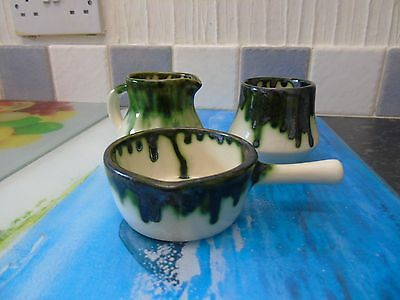 Beddgelert Welsh studio pottery set
