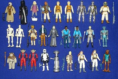 Complete Vintage Star Wars Figures - With All Original Accessories