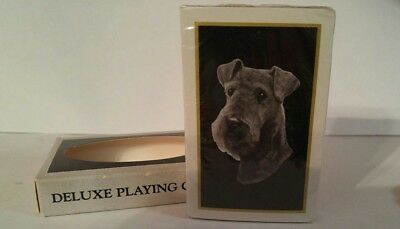 New Airedale Terrier Deluxe Playing Cards