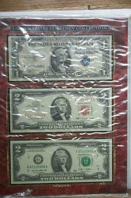 UNITED STATES CURRENCY COLLECTION BY AMERICAN COIN TREASURES #5257 glcw
