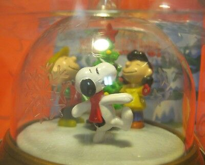 """NOS! vintage Peanuts """"A CHARLIE BROWN CHRISTMAS"""" Whirl-Around ORNAMENT ~ nice!"""