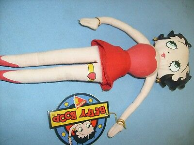"Vintage Dakin Betty Boop small 11"" doll toy collector piece with tag / x1"
