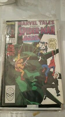 1988 Marvel Comics-Marvel Tales Featuring Spider-Man & The Punisher No. 217
