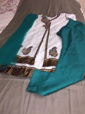 Punjabi Salwar Kameez Indian Pakistani Designer Skirt Suit Bollywood Party Dress
