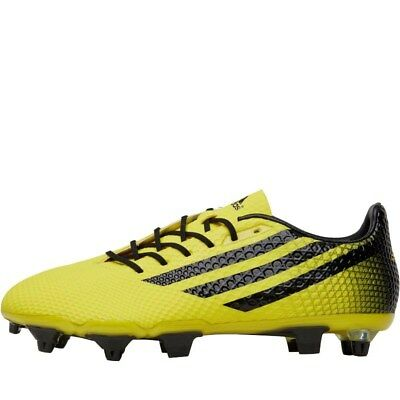 adidas Mens Crazyquick Malice SG Rugby Boots Bright Yellow/Black BNIB/FREE DELIV