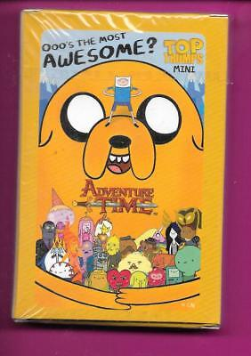 ADVENTURE TIME Top Trumps sealed mini pack of cards NEW