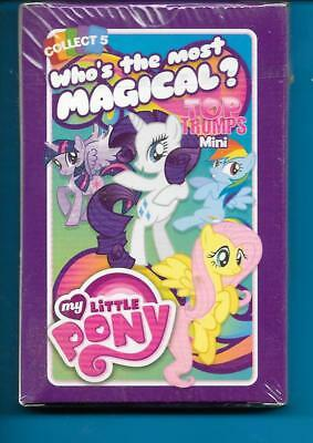 MY LITTLE PONY Top Trumps sealed mini pack of cards NEW