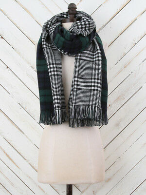 ALTARD STATE Multi-Color Double Sided Reversible Scarf 22 x 79 FASHION HAVEN