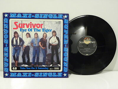 Ms Ex Survivor Eye Of The Tiger Scotii Brothers 12014001 Germany ✰10L5E131