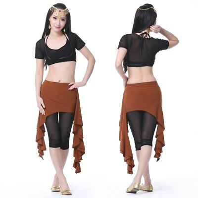 NEW Hip Scarf Pure Color Hip Belt Belly Dance Costumes Practice Dancewear