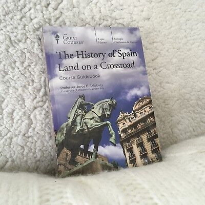 The History of Spain by the Great Courses, DVDs + Course Guidebook