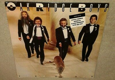 Oak Ridge Boys, Step On Out, 1985 Vinyl Lp ***still Sealed*** Hype Sticker