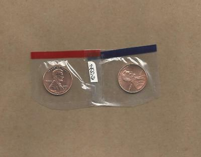 2006 P&D Lincoln Memorial Pennies <> Never Handled with Oily Fingers Cello Pkts.