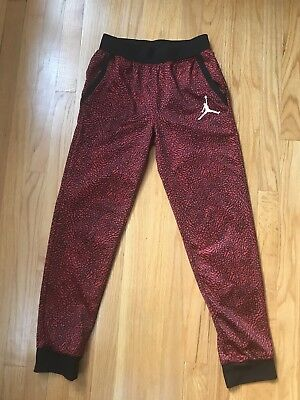 NIKE AIR JORDAN Boys JUMPMAN Jogger Sweat Pants Youth L 12-13