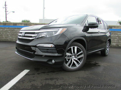 2017 Honda Pilot Touring AWD Touring AWD New 4 dr SUV Automatic Gasoline 3.5L V6 Cyl Crystal Black Pearl