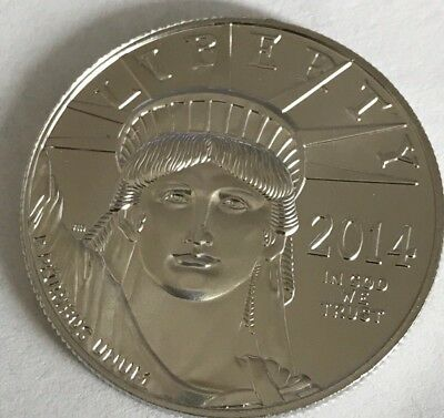 2014 1 oz. Platinum American Eagle .999  $100 Coin!