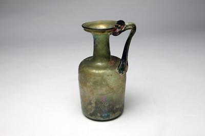 Large Ancient Roman Glass jug c.1st-2nd Century AD.