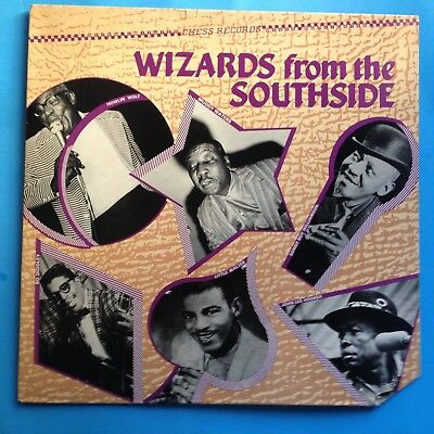 Various-Wizards From The Southside-1982 Chess W/L PROMO-VG++/M-  UNPLAYED-BLUES