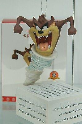 Tasmanian Devil Hallmark Ornament 2017 Taz Looney Tunes Porcelain~Free Ship Us