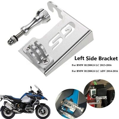 Motorcycle Left Camera Mount Bracket For BMW R1200GS GS LC /ADV Adventure 14-16