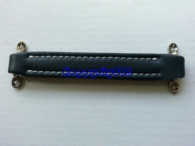 1pc Dark Blue Guitar AMP Cabinet Leather Griff Strap Handle for Fender Ampeg