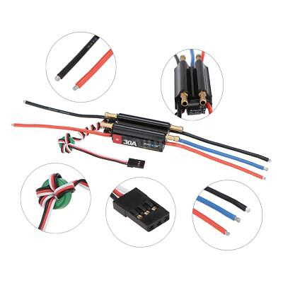 Flycolor Waterproof 150A Brushless ESC with 5.5V/5A BEC for RC Boat J6L1