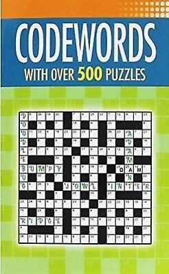 Codewords 500 Puzzles - New Paperpack Book