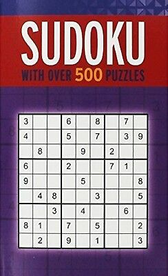 Sudoku 500 Puzzles - New Paperpack Book