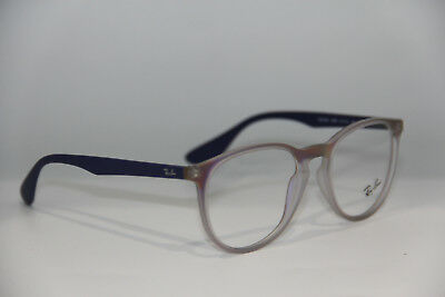 948f339eee6 Brand New Ray-Ban Rb 7046 5486 Purple Eyeglasses Authentic Rx Rb7046 51-18