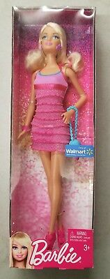 Barbie Reality Pink Mini Ruffle short Dress Barbie Doll Mattel BBV53 (8D)