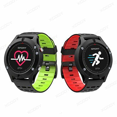 Waterproof GPS Running Smart Watch Heart Rate Monitor Activity Tracker Fitness
