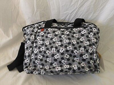 Disney Baby Micky Mouse 5-in-1 Diaper Tote Bag NWT