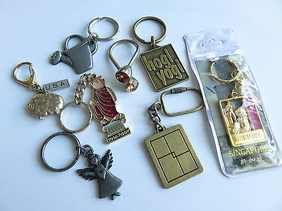 Lot Of Very Nice Key Rings Chains
