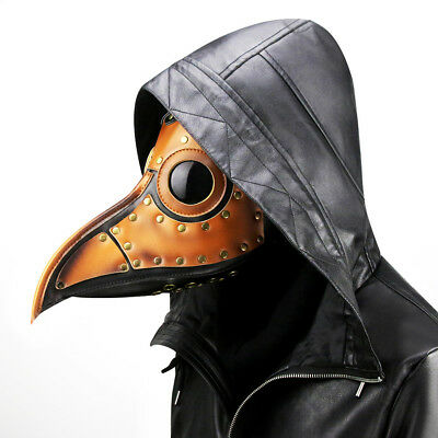 Unisex Pest Vogel Arzt Nase Cosplay Phantasie Gothic Steampunk Retro Rock Maske