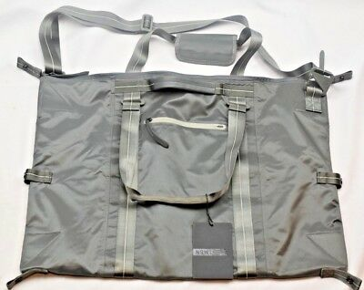 263ae5b6874f Nike NSW Eugene Premium Duffel - NEW - BA4738-017 Duffle Dark Grey Bag Gray