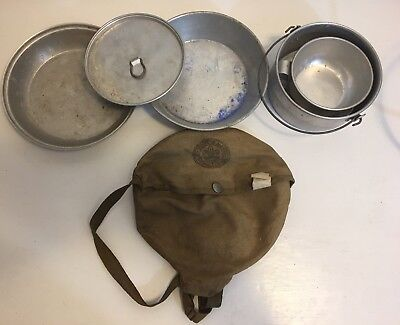 Vintage Boy Scouts of America National Council Official Cook Kit