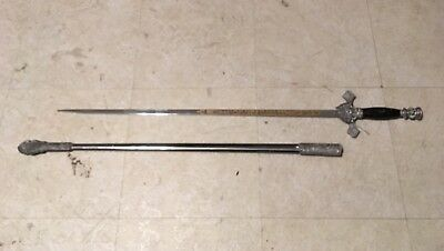 Knights of Columbus Ceremonial Sword & Scabbard