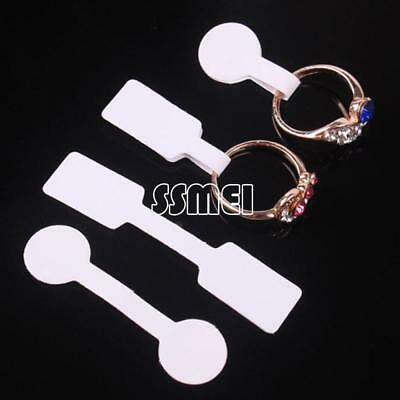 100PCs/Lot Paper Price Tag Clothes Gift Jewelry Necklace Ring Earring Label Tags