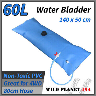 WATER BLADDER 60L NEW 4x4 4WD OFF ROAD Non-toxic CAMPING WATER TANK BLUE PVC