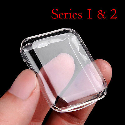 Case Cover Protector iWatch Protective Bumper For Apple Watch Series 2 3 38/42MM
