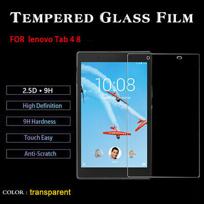 For Lenovo Tab 4 8 10 Plus 100% Geniune Tempered Glass Film Screen Protector
