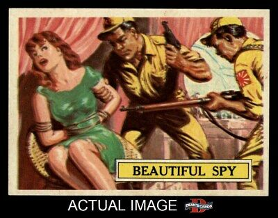 1965 Topps Battle #53 Beautiful Spy  NM