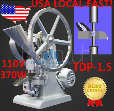 NEW TDP-1.5 Single Electric Punch Tablet Press Machine Pill Press Making Machine