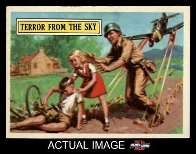 1965 Topps Battle #35 Terror from the Sky  EX/MT