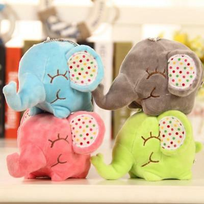Novel Elephant Soft Plush Toy Mini Stuffed Animal Baby Kids Gift Animals Doll ED
